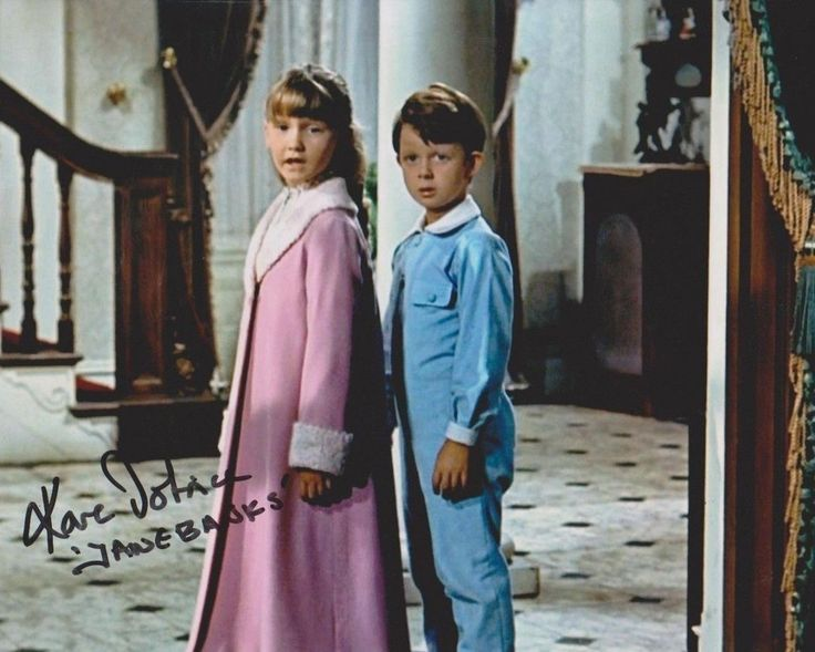 Karen Dotrice and Matthew Garber - Walt Disney's Mary Poppins (1964)