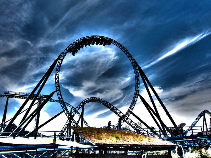 Europa-Park: one of the world's most beautiful theme parks in Rust, Germany