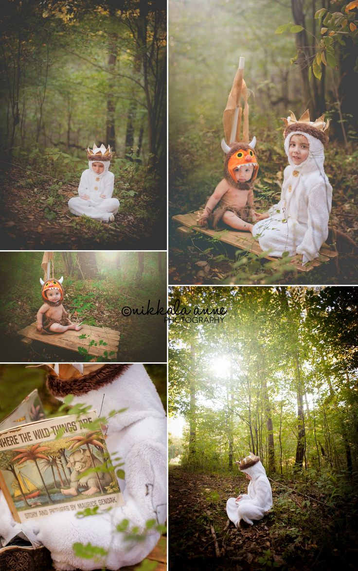 Wild Things | Nikkala Anne Photography brothers boys siblings family photo session photography inspiration idea where the wild things are boat raft sail book costume