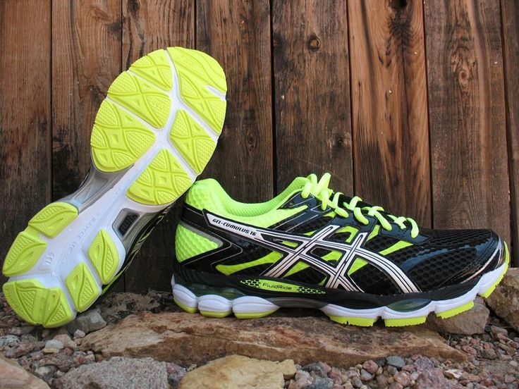 Asics Cumulus 16 Review - http://www.runningshoesguru.com/2014/06/asics-cumulus-16-review/ - The Cumulus returns with a 16th version that is not only lighter, but has a few improvements that have enhanced the shoes already well cushioned and smooth ride.  A great neutral shoe for the high mileage runner.