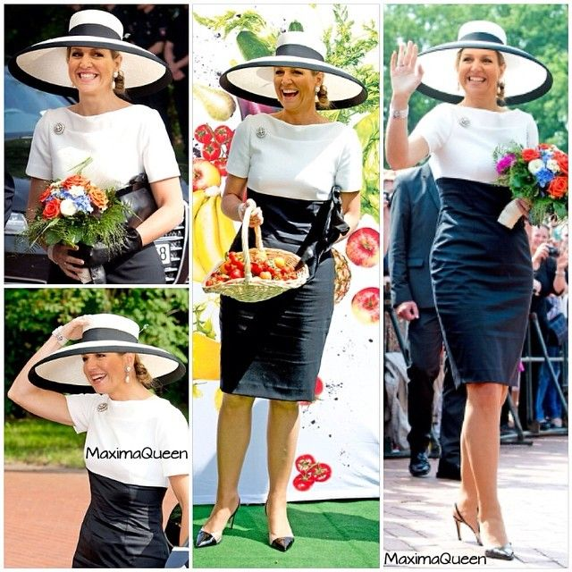 26-05-2014 Queen Maxima and King Willem-Alexander visit Oldenburg, Leer and Werlte in Germany.