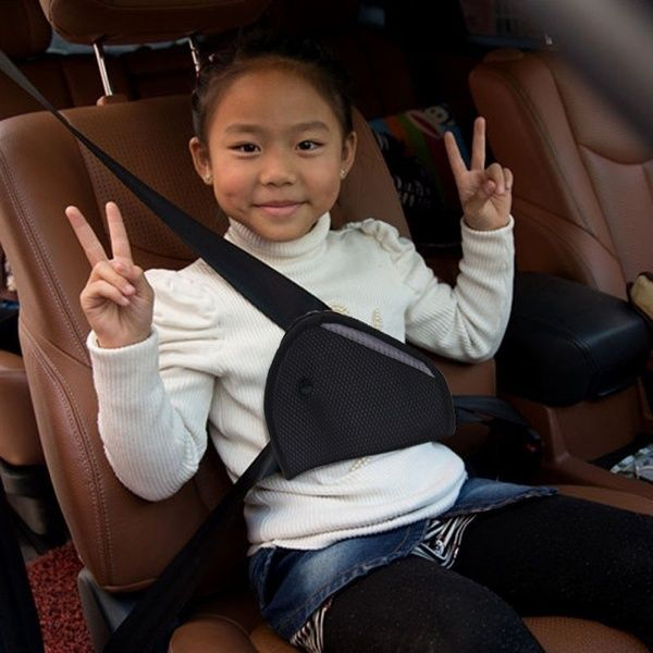 Protect Child Kid Adjuster Car Safety Cover Shoulder Seat Belt Holder Resistant