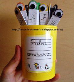 Rincón de una maestra: Los palos revisores