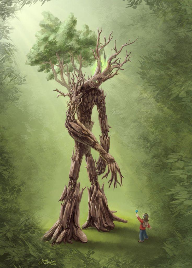 Картинки мифическое дерево