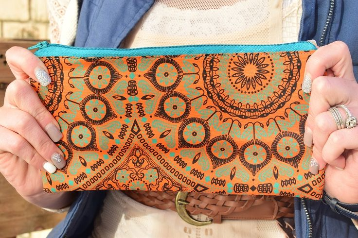 Pockets of Beauty - Shweshwe pencil bag