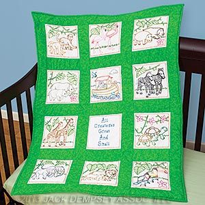 Baby Quilt Blocks Noah S Ark Jack Dempsey Needle Art