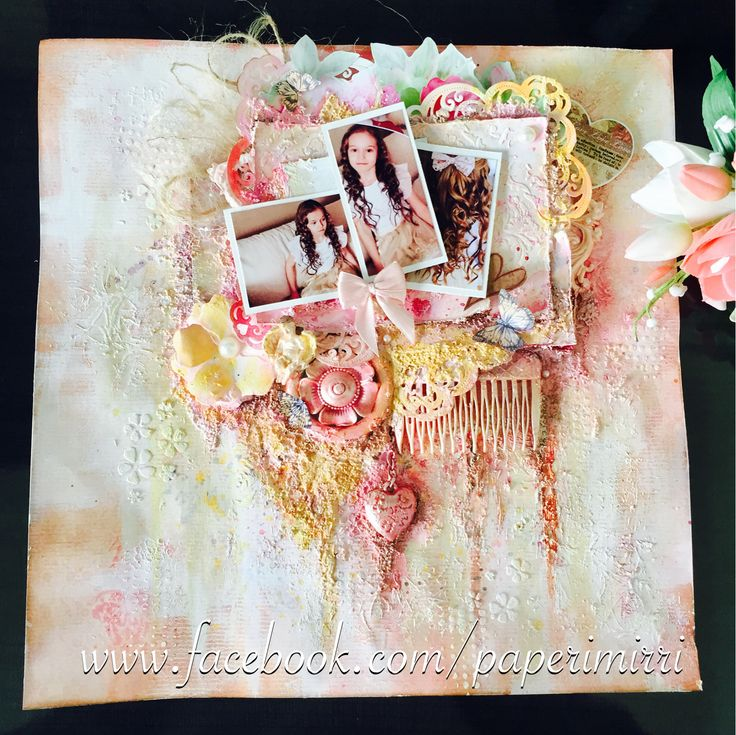 Layout made with Lindys gang Stamp colors.