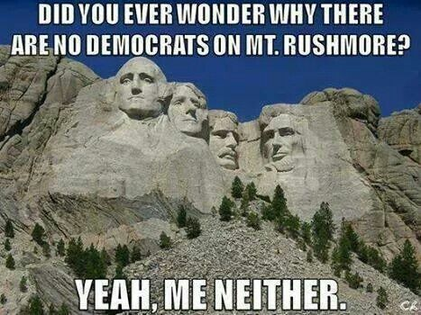 Mt. Rushmore, really???  What a great country we live in and how smart were they when they carved this..