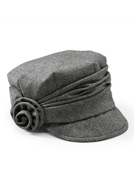 Sharon should buy this for Mandy, she will never get that other one crocheted Herringbone Cap, Clothing Mi Style, San Diego, Gathering Band, Head Of Garlic, Diego Hats, Rose Cap, Side Rose, Fashion Hats