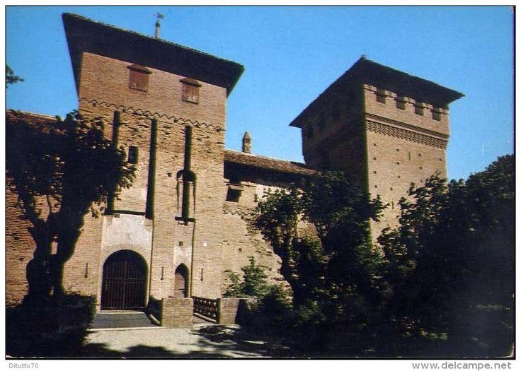 Cuneo - Cherasco - entrata castello visconteo - 1 - formato grande viaggiata