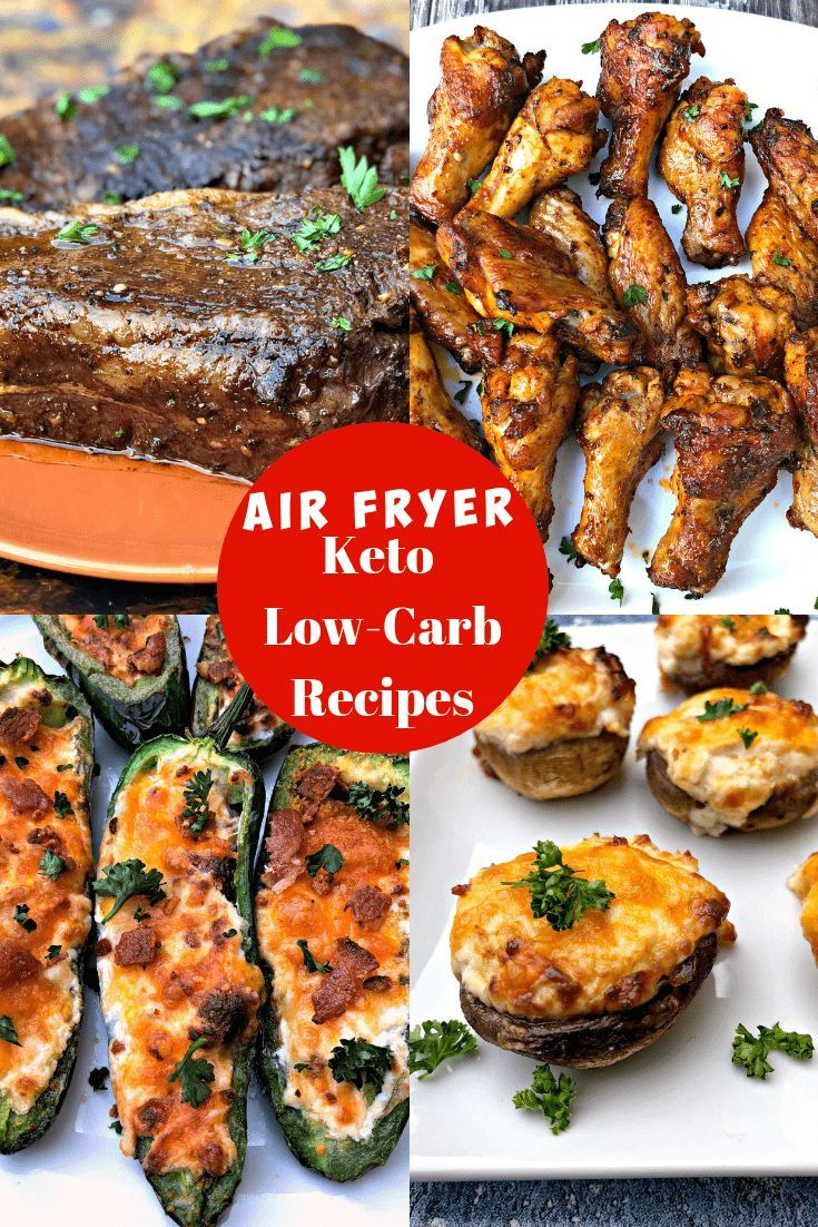 5 Quick and Easy Keto Low-Carb Air Fryer Recipes for Dinner