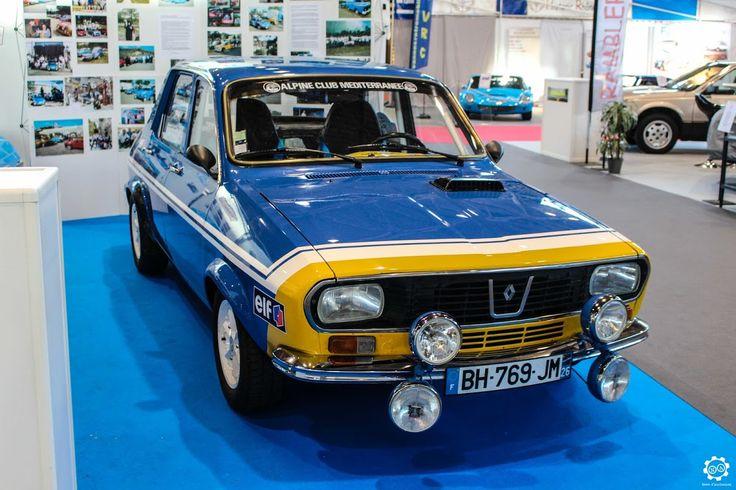 #Renault #12 #Gordini à Epoqu'Auto à Lyon Reportage complet : http://newsdanciennes.com/2015/11/09/grand-format-epoquauto-2015/ #Voitures #Anciennes #Vintage #ClassicCars @salonepoquauto