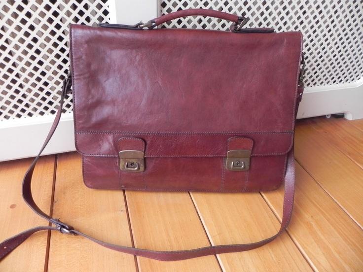 Arpello Aktentas Laptop tas schooltas A4 (1729) #vintage #bag