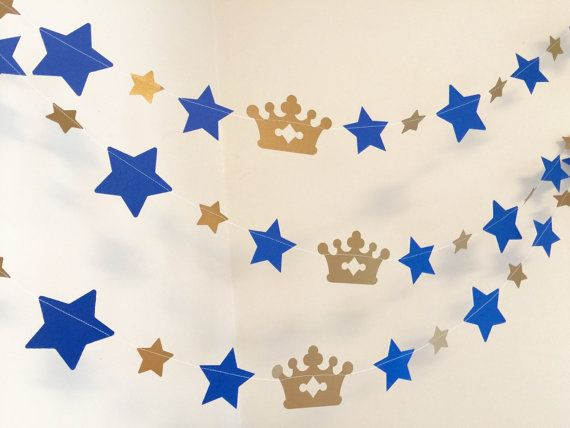 Little Prince Baby Shower Decor Little by anyoccasionbanners