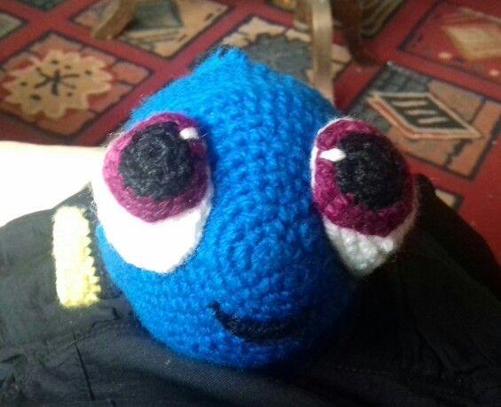 Dory bebé amigurumi a crochet