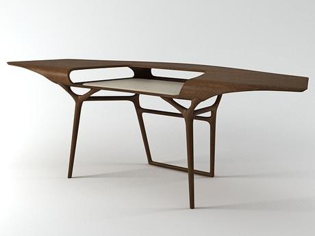 Ceccotti Collezioni Manta Desk 3d model | Noé Duchaufour-Lawrance