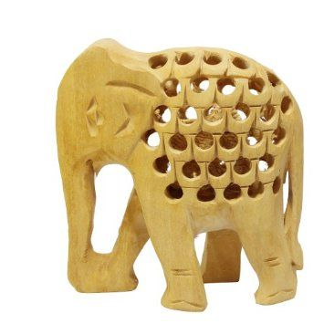 Amazon.com: Home Décor Accessories Elephant with Holes on Body Fine Décor: Home & Kitchen
