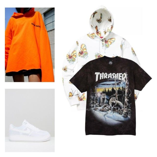 """On My Mind"" by aayeshaofficial on Polyvore featuring NIKE"