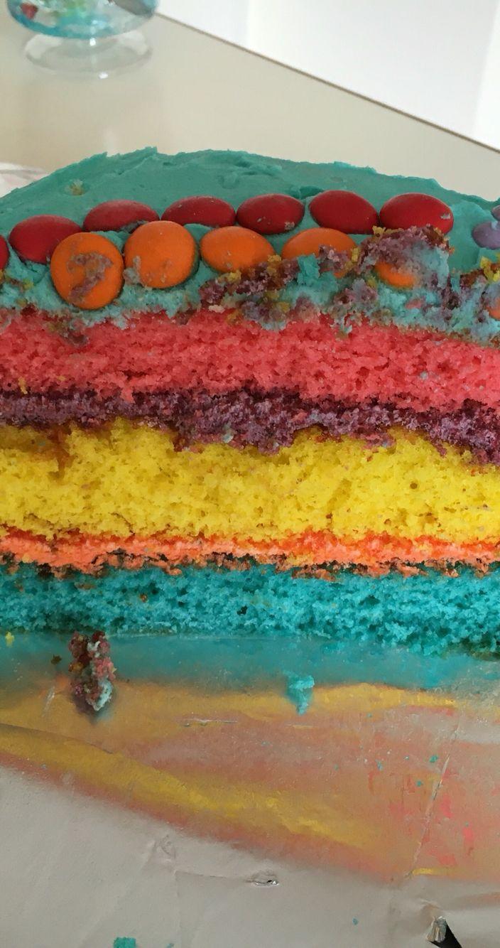 Inside of cake....oh so easy!
