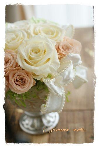 『【今日の贈花】結婚のお祝いに・・・』 http://ameblo.jp/flower-note/entry-11586343162.html