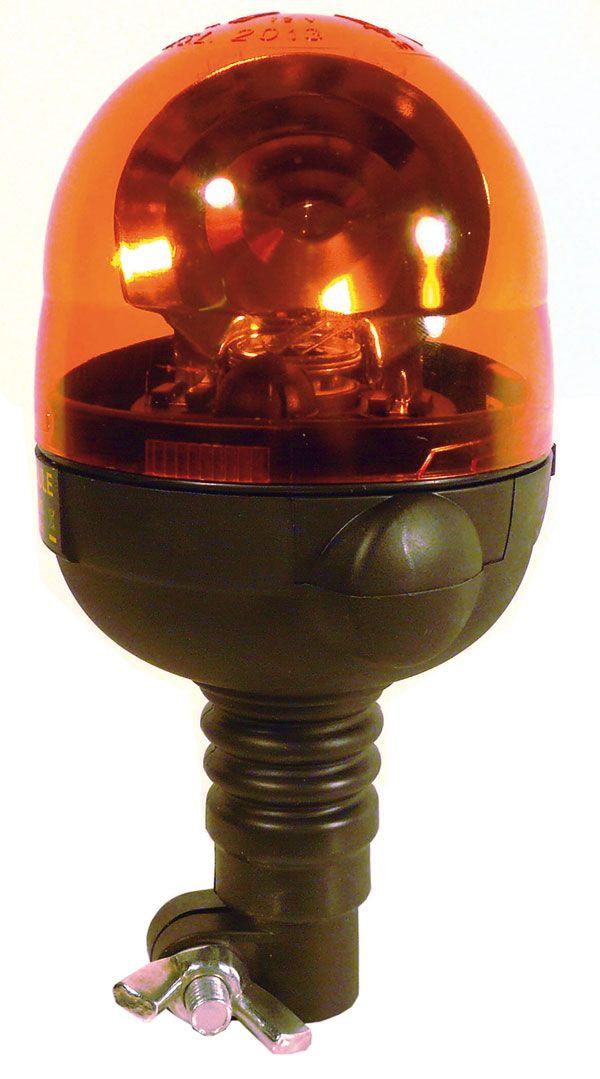 Gyrophare orange microboule flexible #gyrophare #eclairage