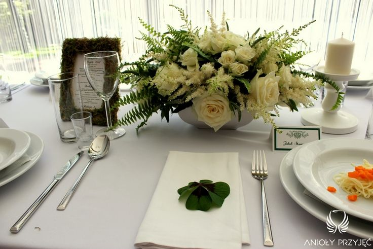1. Irish theme Wedding,Table decor,Centerpieces / Irlandzkie wesele,Dekoracja stołu,Anioły Przyjęć