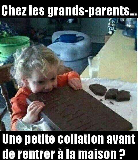 Quand tu vas chez les grands-parents