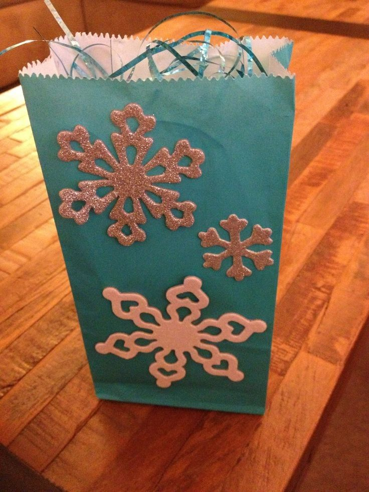 2014 Halloween Frozen themed snowflake candy bag for kids - sequin