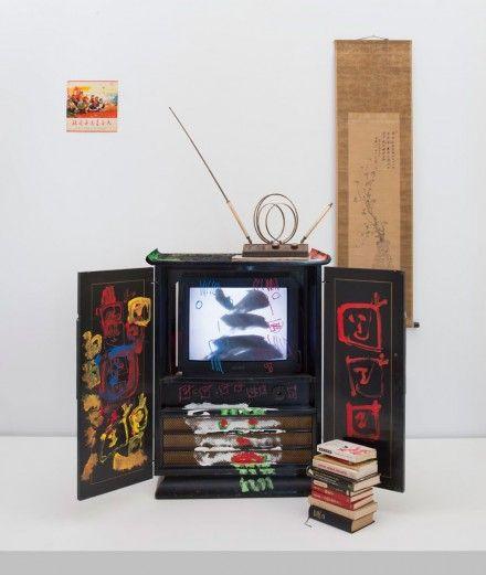 Nam June Paik, Chinese Memory (2005), © Nam June Paik Estate, Courtesy of Gagosian Gallery