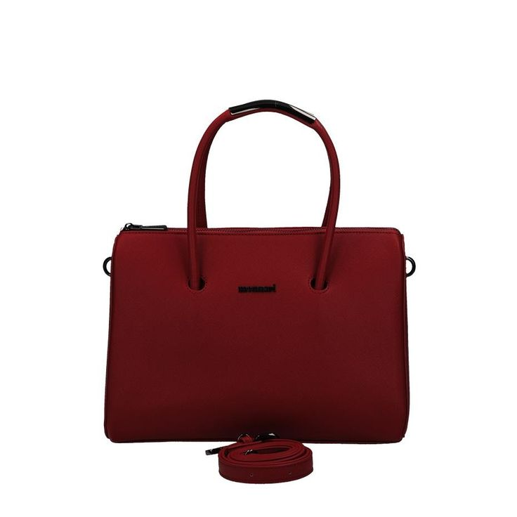 Czerwony luksusowy kuferek Monnari