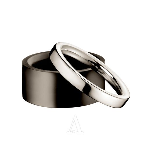 Calvin Klein Jewelry  Ebony KJ15AR110206 Women's Ring