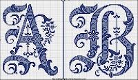 Cross stitch - vintage, very cool!