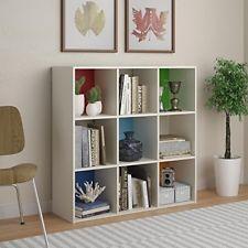 cube storage shelves wooden white multi modern living office bookcase organizer home