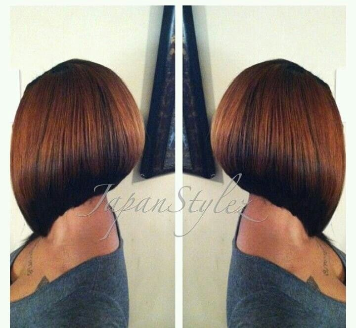 Sharp Bob Haircut - Short Hairstyles for Black Women