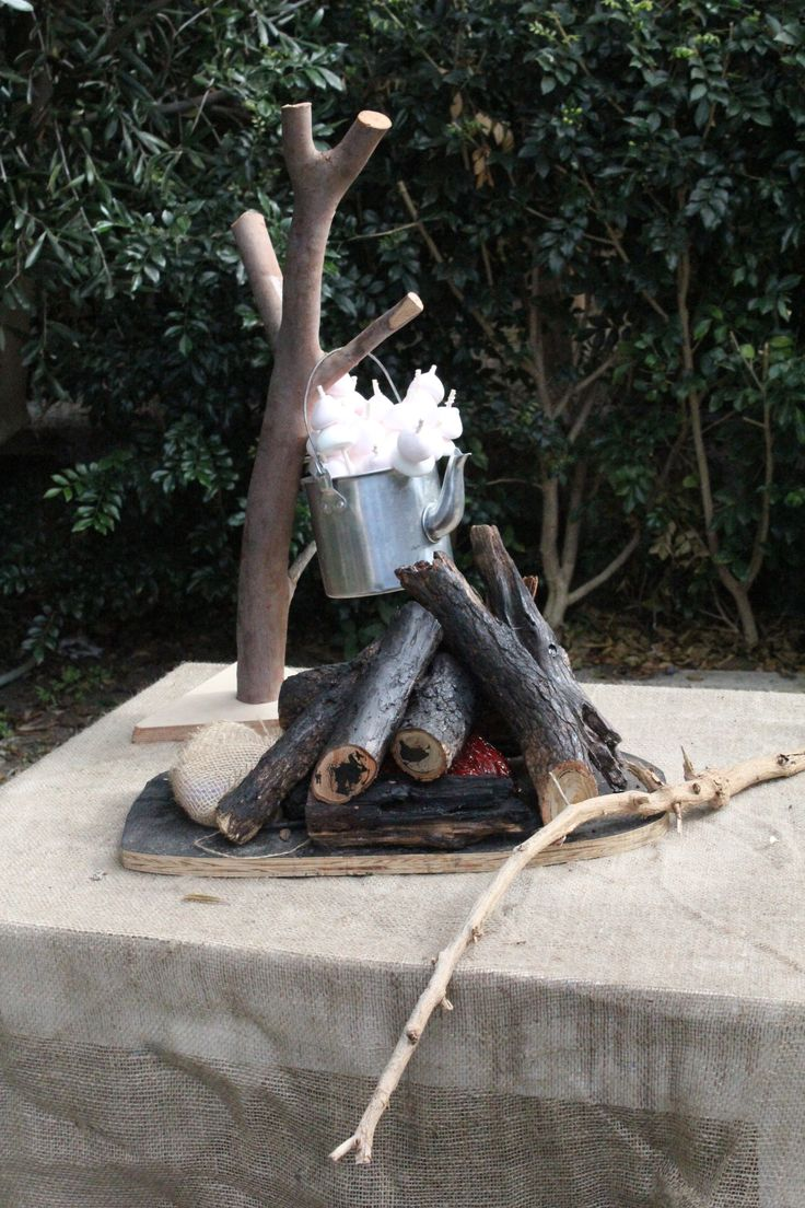 COWBOY AND INDIAN - Marshmallow fire