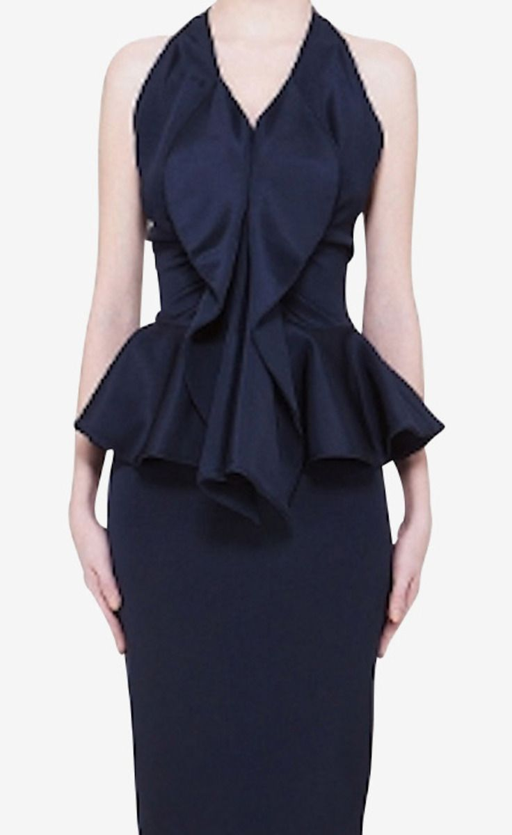 Givenchy Navy Dress