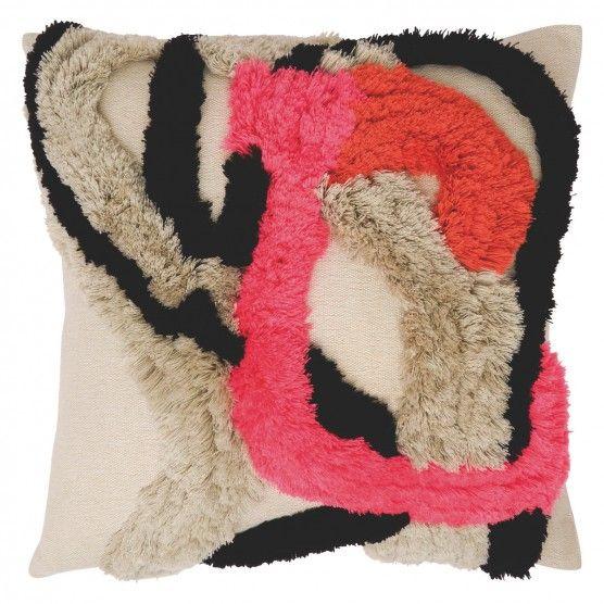 NENA Multi-coloured wool cushion 50 x 50cm