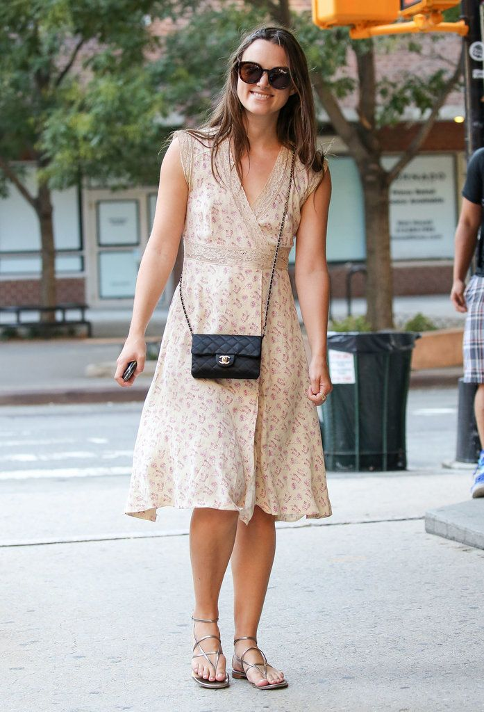 Keira Knightley rocks the perfect summery dress while taking a stroll with James Righton