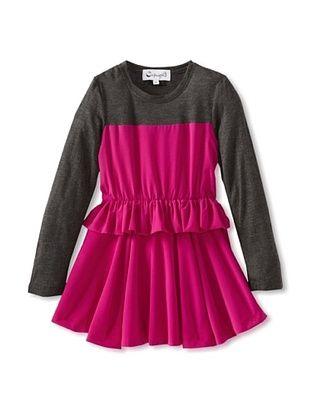 82% OFF A For Apple Girl's Swing Dress (Fuchsia)