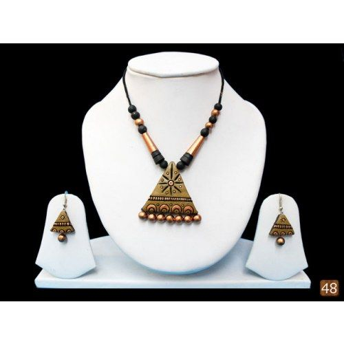 8 best Ethnic Indian Terracotta Jewelry images on Pinterest   Ethnic ...