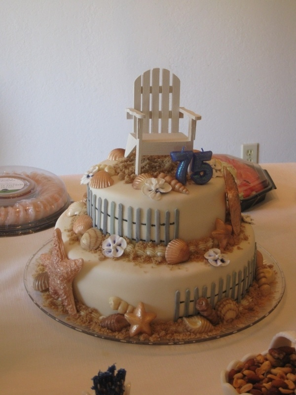 153 Best 75th Birthday Cakes Images On Pinterest