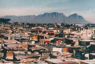 Khayelitsha township in South Africa.  We visited with friends from the office. Quite the experience!