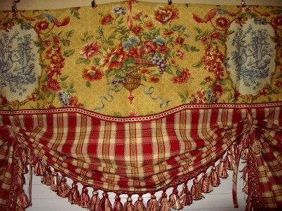 144 best Kitchen Curtain Fabric Ideas images on Pinterest - country valances for living room