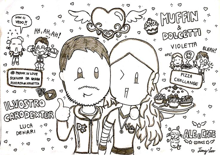 Ilvostrocarodexter e Muffin&dolcetti (violetta) - youtubers