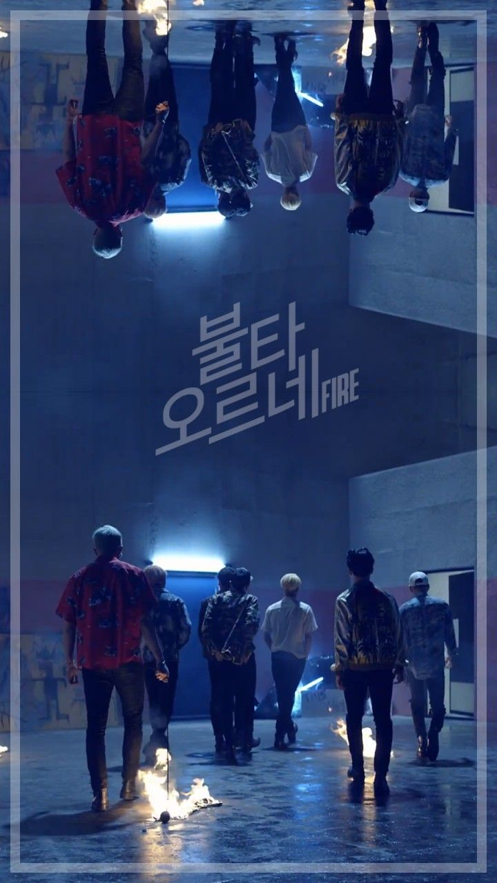 BTS  Fire  wallpaper for phone  BTS *♡*  Pinterest  BTS, Fire