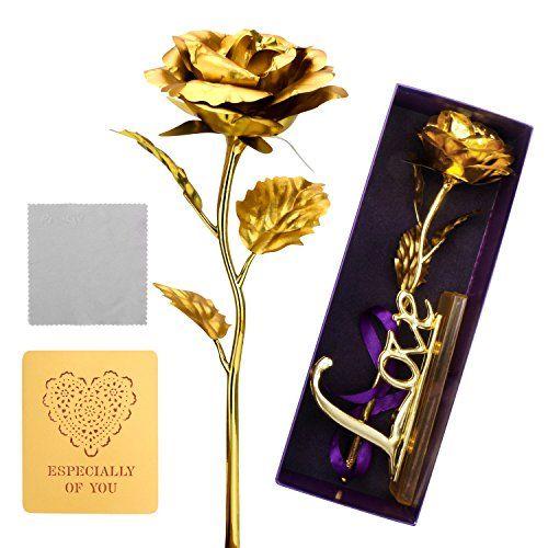 New 24K Gold Leaf Art Design Gold-Plated Frame Art DIY Decorative ILOE