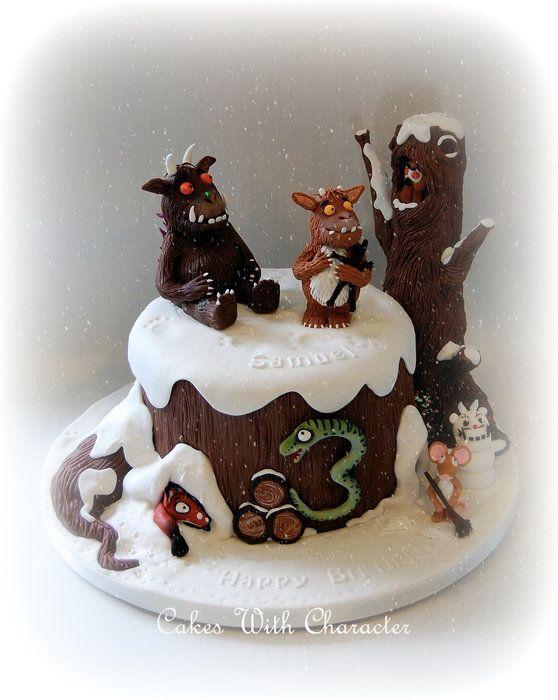 The Gruffalo's Child - by CakesWithCharacter @ CakesDecor.com - cake decorating website