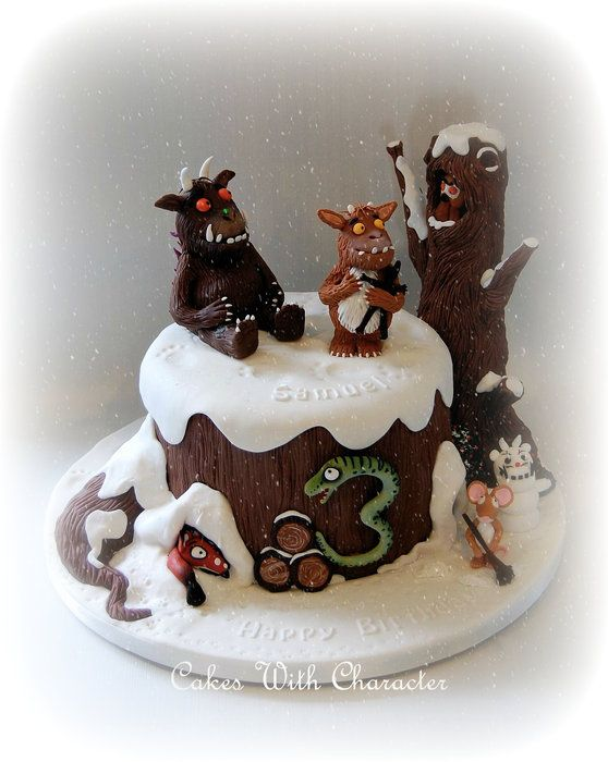 The Gruffalo's Child - by CakesWithCharacter @ CakesDecor.com - cake decorating website