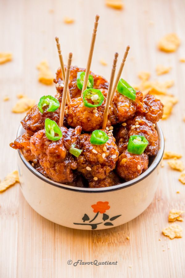 The crispy and crunchy cauliflower Manchurian is a delightful alternative to the non-vegetarian version! I have always liked Chinese flavors.…