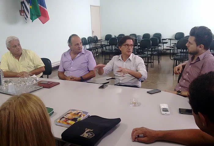 O encontro faz parte de levantamentos e estudos de viabilidade para a implantação de um departamento semelhante ao que existe em Campinas.
